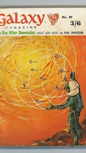 Galaxy Magazine. December 1961 Vol 20 No.2