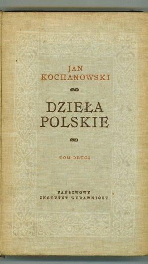 Dziela Polskie. Tom Drugi (Volume II)