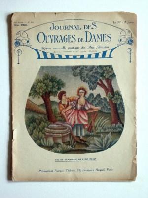 Journal des Ouvrages de Dames No.446 Mai 1925 Revue Mensuelle Pratique Des Arts Feminins