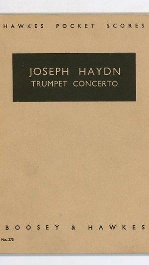 Joseph Haydn Trumpet Concerto Concerto pour Trompette et Orchestre