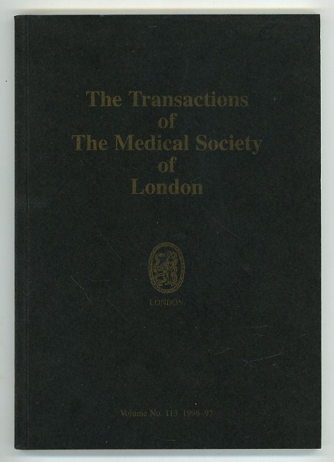 The Transactions of the Medical Society of London