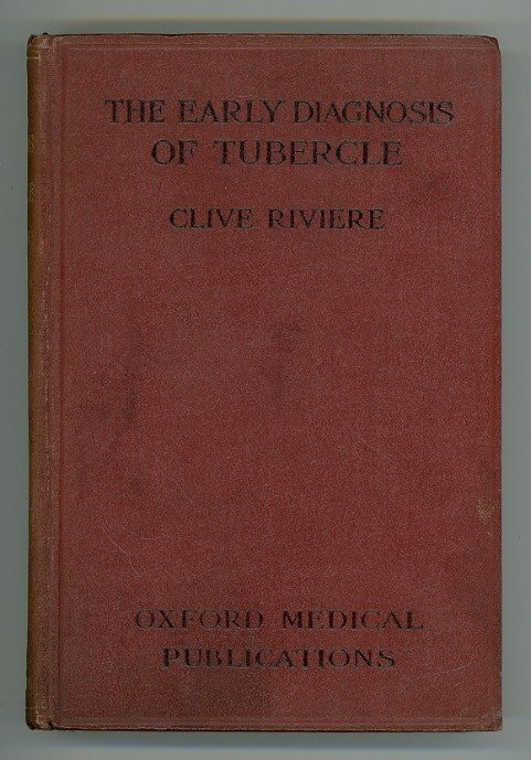 The Early Diagnosis of Tubercle