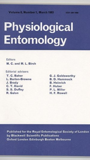 Physiological Entomology Volume 8, Number 1, March 1983