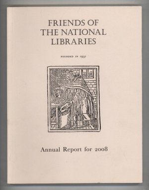 Friends of the National Libraries Annual Report for 1988