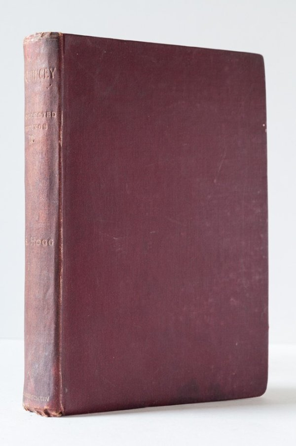 The Uncollected Writings of Thomas de Quincey Volume II