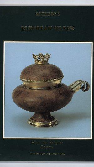 Catalogue of European Silver