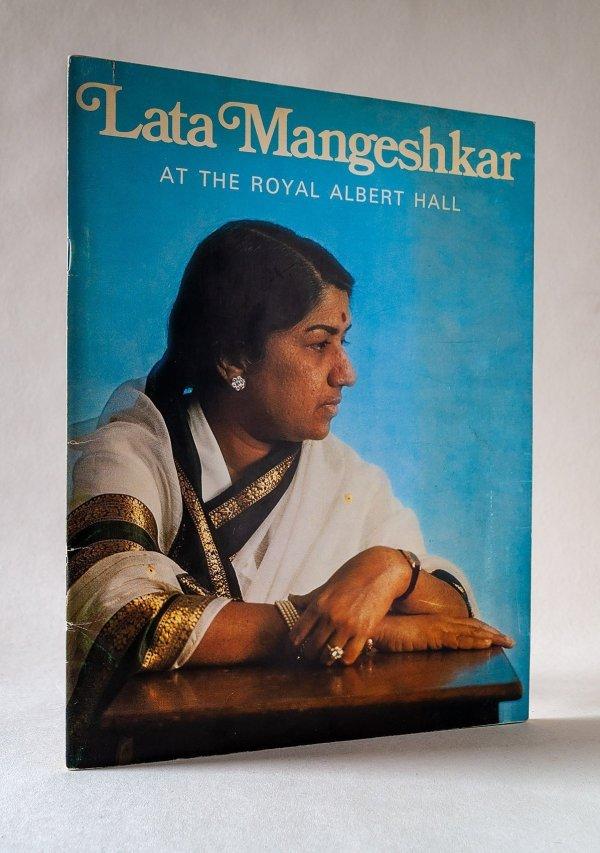Lata Mangeshkar at the Royal Albert Hall March 1974