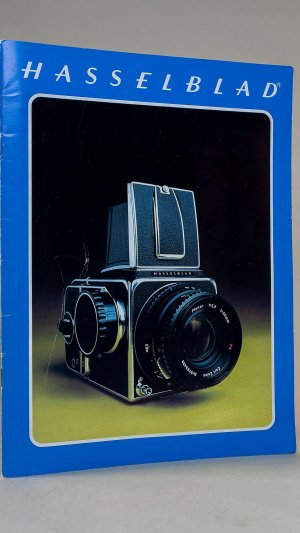 Hasselblad 500C/M, SWC, 500EL/M and 2000FC Camera & Lenses Brochure 1977