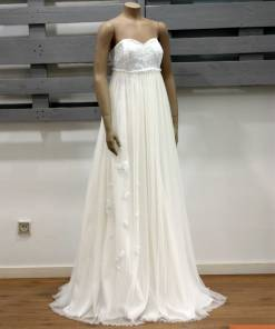 Vestido novia ALIA. Monicci - Moda Mediterránea
