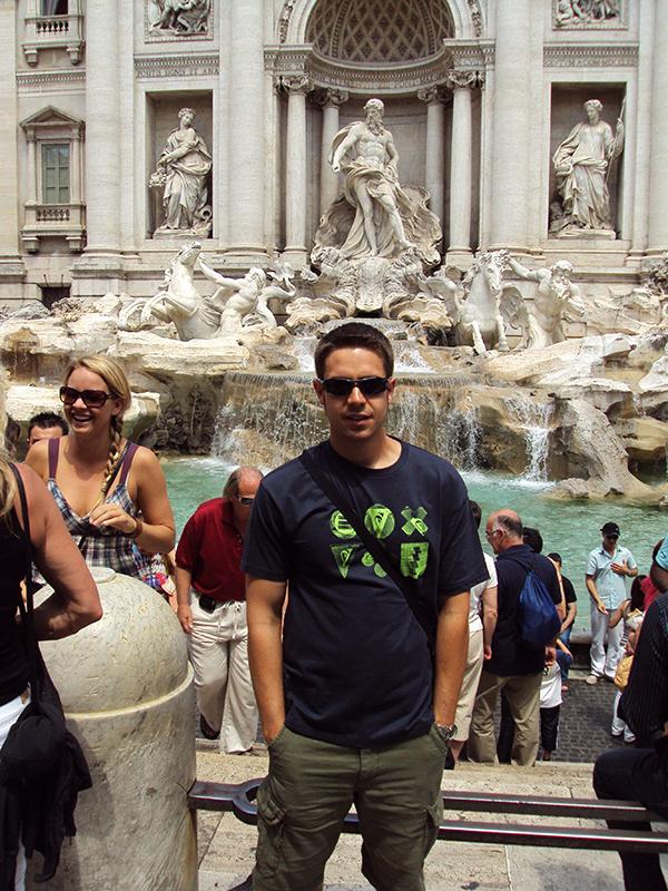 Andorreando Fontana de Treví,