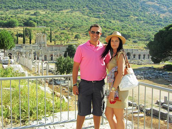 Andorreando por Templo Artemisa.