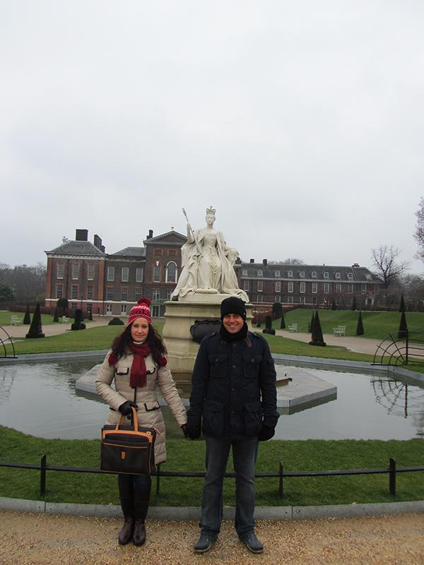 Palacio de Kensington London.