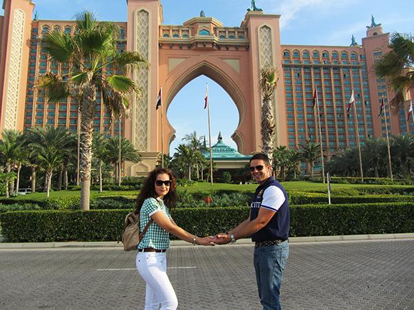 Hotel Atlantic Dubái.