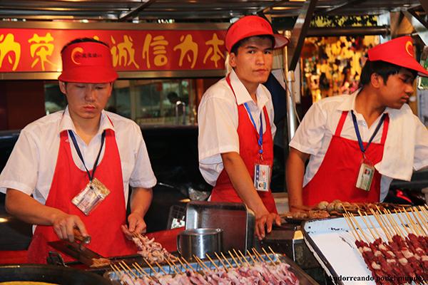 Mercado Wangfujing