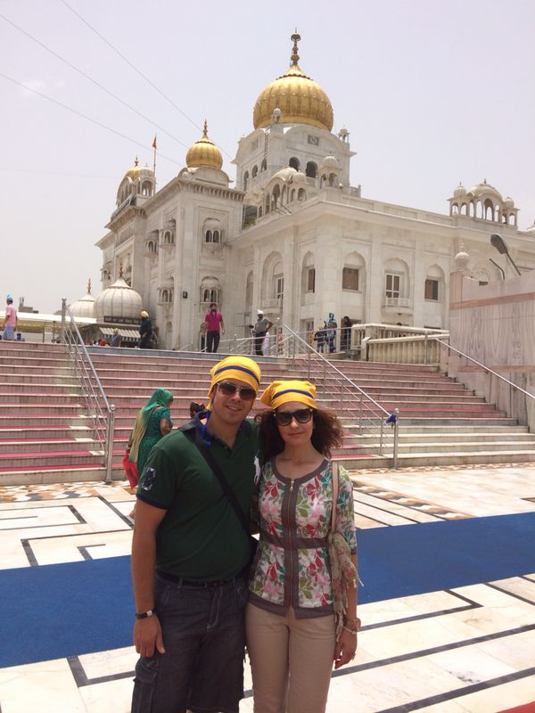 Templo Sikh de Bangla