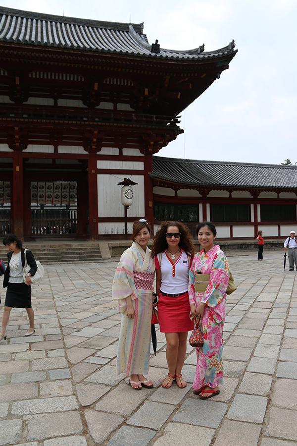 Chicas japonesas.