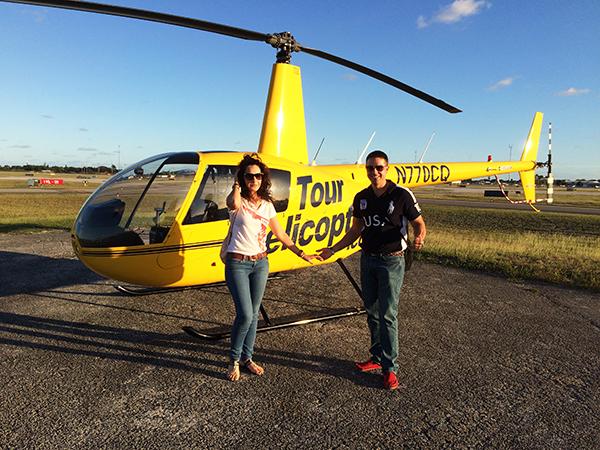 helicóptero Miami