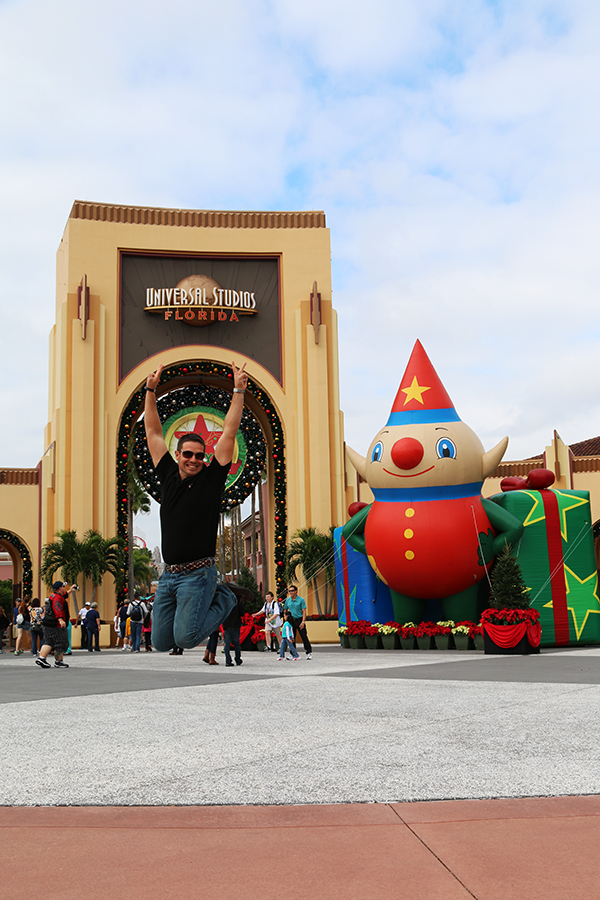 jump Universal Studios.
