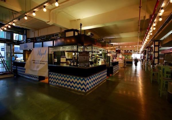Interior Mercado Merced