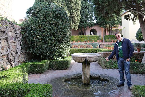 Patio Surtido - Alcazaba- Málaga.