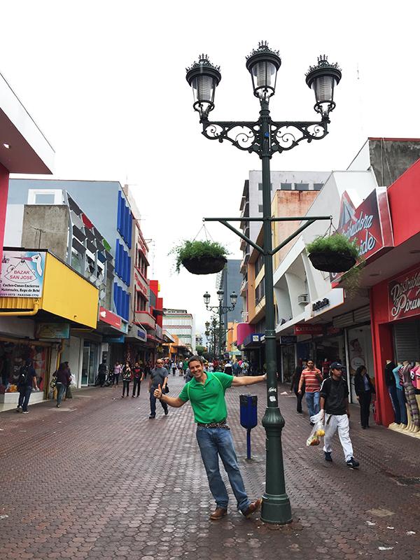 Avenida Central Pedestrian