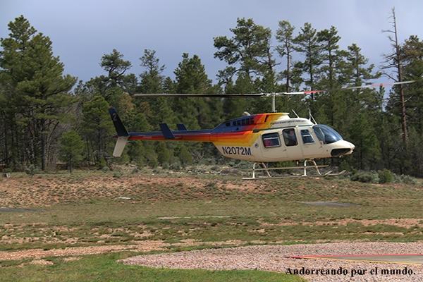 paseo- Helicóptero.