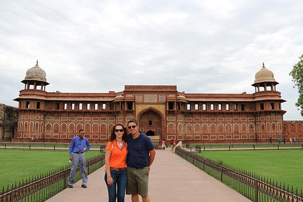 Entrada del Fuerte Rojo de Agra