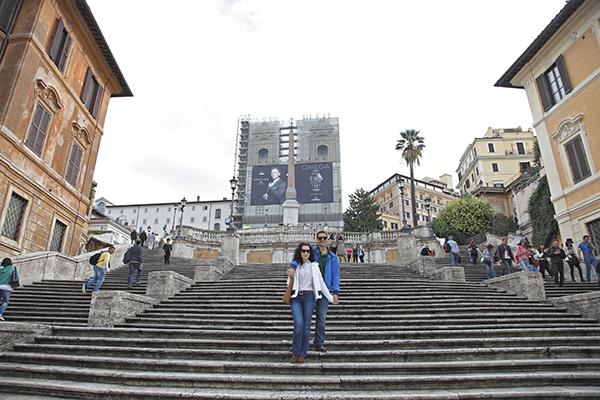 Escalinata Plaza de España