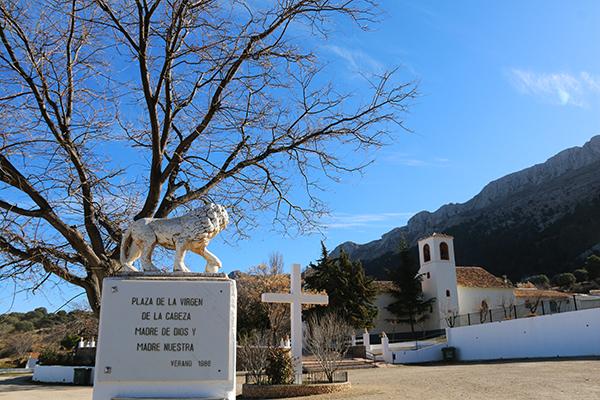 Andorreando Ermita Virgen de la Cabeza.