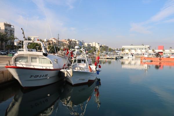 Puerto Roquetas de Mar.