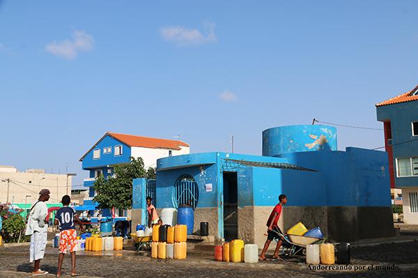 depósitos públicos agua potable