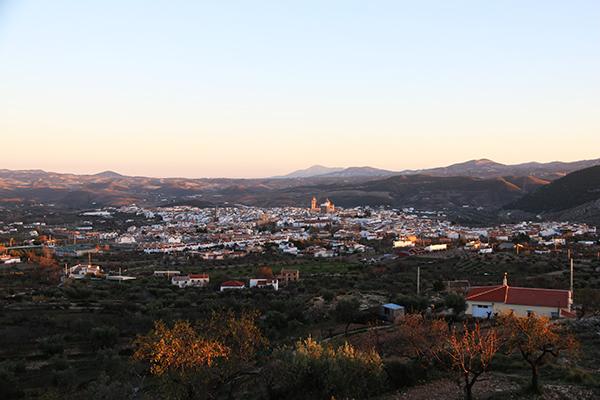 Andorreando panoramica Vélez Rubio