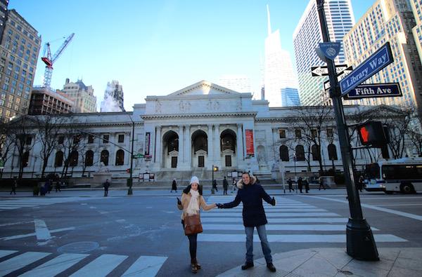 Andorreando Biblioteca Pública Nueva York