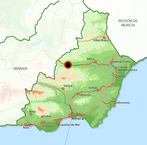 Andorreando Mapa Serón
