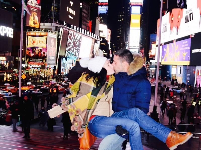 Andorreando Time Square