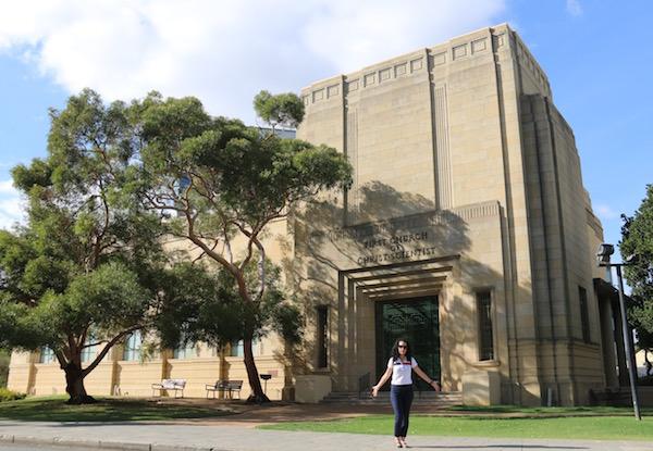 Christian Science Church Perth-Andorreando por el Mundo