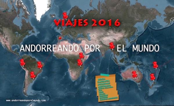 Mapa Vuelta al mundo