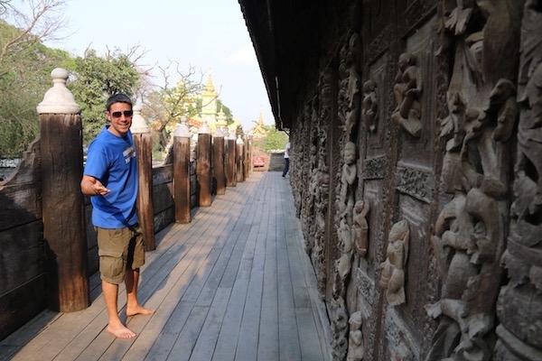 Monasterio Shwenandaw-Kyaung- Andorreando por el Mundo.