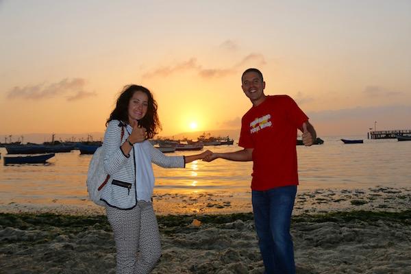 Atardecer Paracas-Andorreando por el Mundo