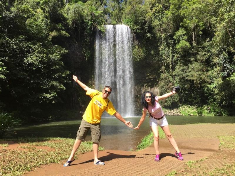 Casca Millaa Millaa- Andorreando por el Mundo