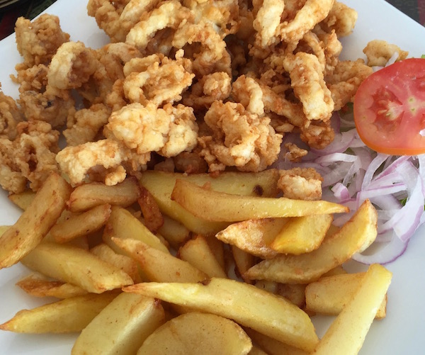Calamares fritos