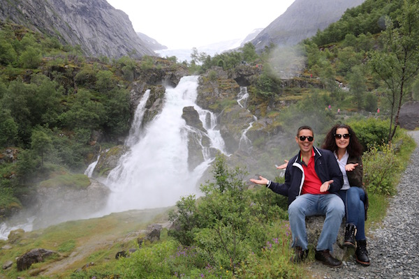 Cascada Kleivafossen