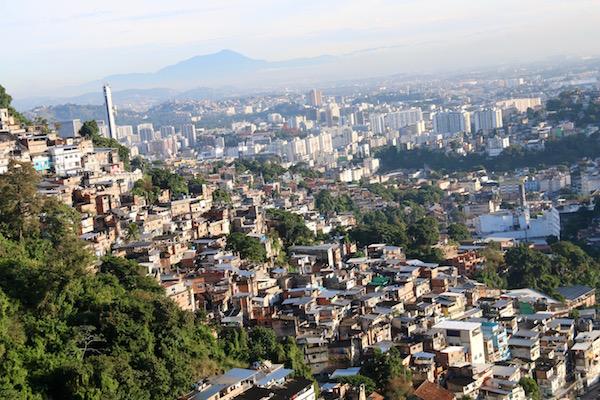 Favelas Brasil.