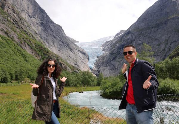 Glaciar Briksdal