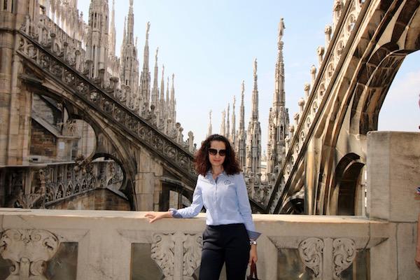Terraza Catedral Duomo.
