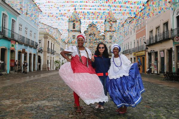 Vestido Tipico Bahiana