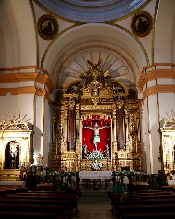 Interior Iglesia Cristo Vera Cruz