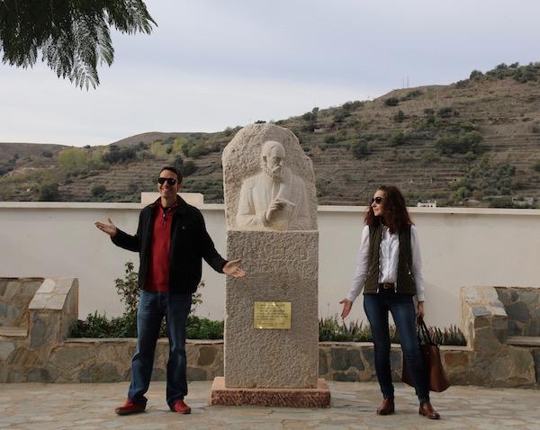 Estatua Miguel Cervantes