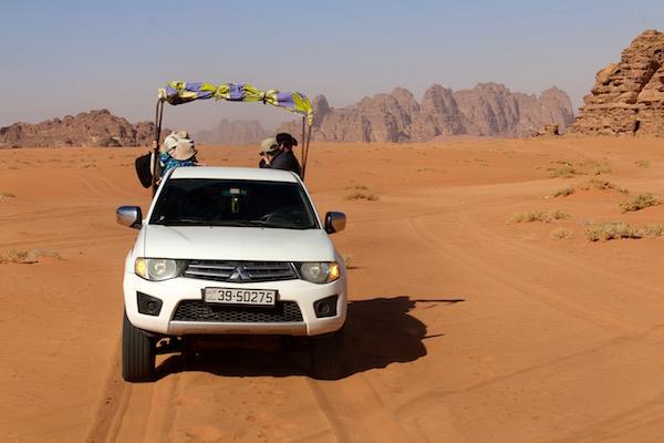 4x4 Desierto Wadi Rum