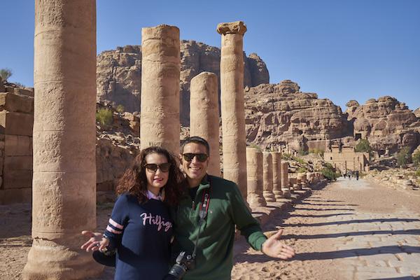 Avenida Columna Petra